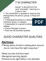 Lec 2 Character Ethics