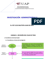 1 Sesiones de Investigac. Administ. II