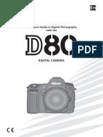Nikon D80 Cameral Manual