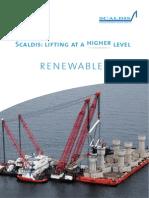 Scaldis Brochure Renewables
