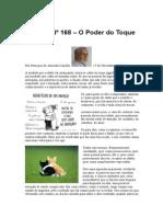 Crónica Nº 168 - O Poder do Toque Pessoal