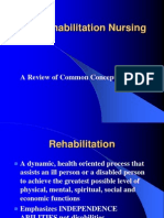 Nursing Rehabilitation