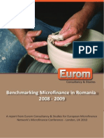 Benchmarking Microfinance in Romania
