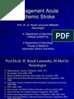 Management Acute Stroke
