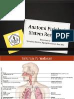 Anatomi Fisiologi Sistem Respirasi