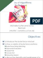 Algorithms - Chapter 3 Bruteforce