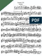 Sonata VII (Flute)