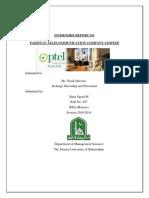 latest interernship report basit