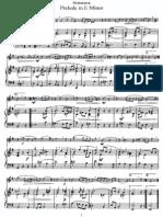 Hotteterre - Prelude in E Minor (Piano)