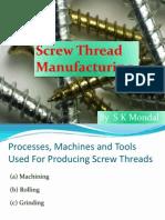 Ch-8.2 Screw Thread Manufacturing