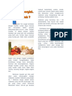 Artikel Makanan Bergizi