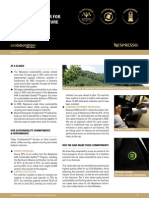 Nespresso - Ecolaboration - Working Together - Factsheet