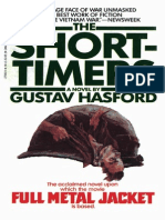 8166 the Short Timers by Gustav Hasford 1979 Book
