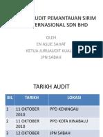 Laporan Audit SIRIM 2010