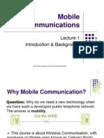 Lec1 Mobile Communication