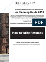 7 Career Services Guide How to Write Resumes