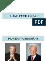 CURSUL 4 - Brand Positioning