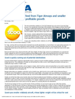SIA's Scoot Needs Feed From Tiger Airways and Smaller Aircraft to Achieve Profitable Growth _ CAPA - Centre for Aviation