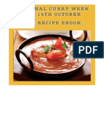 National Curry Week 7 Day Recipes eBook