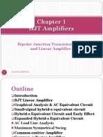 Chapter 1 BJT Amplifier