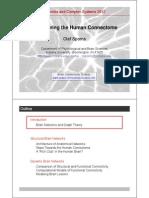El Conectome Humano - Olaf Sporns (ING)