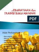 KEBUDAYAAN dan TRADISI SUKU MANDAR.pptx