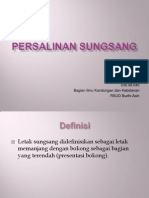 Persalinan Sungsang - PPT
