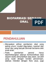 4. Biofarmasi Sediaan Oral