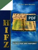 Hifz Ucenje Kurana Napamet Dr Hfz Safet Halilovic