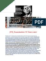 JFK Assassination 50 Years Later