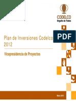 Plan de Inversiones Codelco 2012 05032012