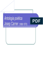 PPT Antologia poètica 1314