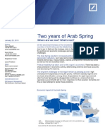 Two years of Arab Spring.