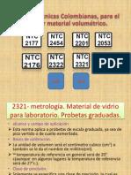 Normas Técnicas Colombianas, para el calibrar material.pptx