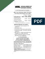 NBL Rates Effective 7.1.09