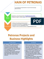 petronas value chain and benchmark criteria