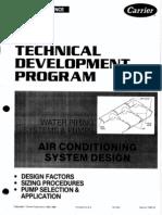 Technical Development Program for HVAC Piping & Pumps