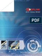 Oplink 2012 Annual Report
