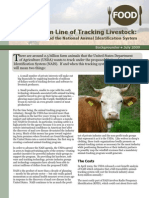 The Bottom Line of Tracking Livestock