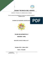 Silabo Agropecuaria Matematica II