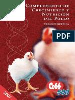 Cobb Crecimiento y Nutricion