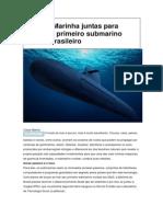 Coppe e Marinha Juntas Para Equipar o Primeiro Submarino Nuclear Brasileiro