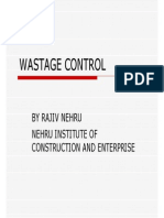 6912442 Wastage Control