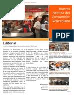 Newsletter Nuevos hábitos del consumidor Venezolano