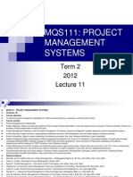 Project Mgmt Systems-Lecture11 (1)
