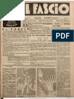 EL FASCIO [Número único (fotocopias)] [16-03-33] - Falange Española