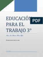 EDUCACIÓN PARA EL TRABAJO 3°