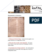 A Antiguidade Tardia em Textos - Pensamento e Literatura - André Bueno