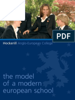 Hockerill Anglo-European College Brochure