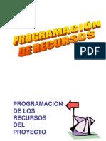 6.- PROGRAMACIÓN DE RECURSOS